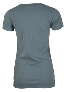 Grey basic tee back