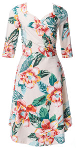 Sweetheart Dress in Truly Tiki