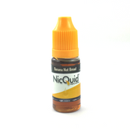 Just like warm homeade banana nut bread straight out of the oven! This flavor delivers and then some. Spot on taste and thick plumes of vapor. 10ML Bottles only.