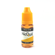 What makes any dessert better? The whipped cream and cherry on top! Cherry on top takes it cue from this. Sweet ripe red cherry flavor mixed with fluffy and sweet cream notes. 10ML Bottles only.