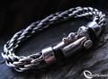925 Sterling Silver Nomad Funky Loop Bracelet