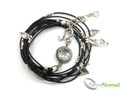 925 Sterling Silver Charm Necklace / Bracelet