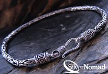 Silver Nomad Subtle Byzantine Bracelet