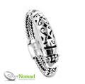 Silver Nomad Tribal Bracelet