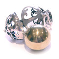 925 Sterling Silver Large Balinese Harmony Dream Ball Pendant