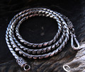925 Sterling Silver Putra Curb Necklace - 20""