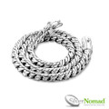 925 Sterling Silver Nomad Chunky S-Link Curb Necklace