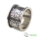 925 Sterling Silver Designer Flower Band