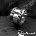 925 Sterling Silver Bali Eternal Armour Ring