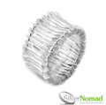 925 Sterling Silver Nomad Contemporary Layered Band