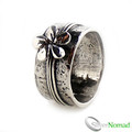 925 Sterling Silver Designer Flower Ring