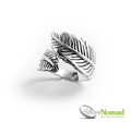 925 Sterling Silver Nomad Leaf Wrap Ring