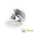 925 Sterling Silver Nomad Leaf Wrap Ring