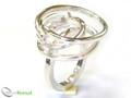 925 Sterling Silver Twirl Ring