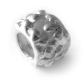 925 Sterling Silver Bali Flower Charm
