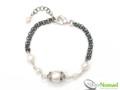 Silver Nomad Designer Bracelet Wholesale - BR1058
