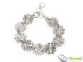 Silver Nomad Designer Bracelet Wholesale - BR1105