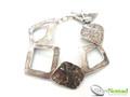Silver Nomad Designer Bracelet Wholesale - BR1110