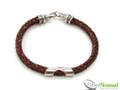 Silver Nomad Designer Bracelet Wholesale - BR1136