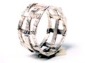 Silver Nomad Designer Ring Wholesale - RG334