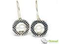 Silver Nomad Designer Earrings Wholesale - EG518