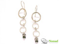 Silver Nomad Designer Earrings Wholesale - EG708