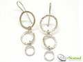 Silver Nomad Designer Earrings Wholesale - EG709