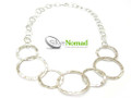 Silver Nomad Designer Necklace Wholesale - NK1546