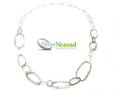 Silver Nomad Designer Necklace Wholesale - NK1811