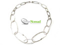 Silver Nomad Designer Necklace Wholesale - NK1814