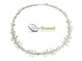 Silver Nomad Designer Necklace Wholesale - NK2071