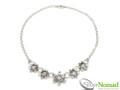 Silver Nomad Designer Necklace Wholesale - NK2085