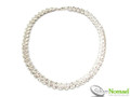 Silver Nomad Designer Necklace Wholesale - NK2113