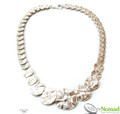 Silver Nomad Designer Necklace Wholesale - NK2116