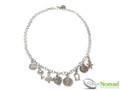 Silver Nomad Designer Necklace Wholesale - NK2121