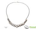 Silver Nomad Designer Necklace Wholesale - NK2140
