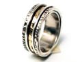 Silver Nomad Designer Revolving Ring Wholesale - RG422