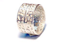 Silver Nomad Designer Ring Wholesale - RG423
