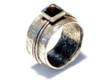 Silver Nomad Designer Ring Wholesale - RG469