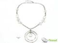 Silver Nomad Designer Necklace Wholesale - NK2210