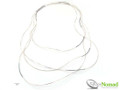Silver Nomad Designer Necklace Wholesale - NK2215