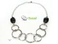 Silver Nomad Designer Necklace Wholesale - NK2275
