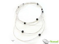 Silver Nomad Designer Necklace Wholesale - NK2315