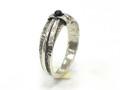 Silver Nomad Designer Ring Wholesale - RG621