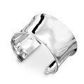 925 Sterling Silver Contemporary Cuff - 4cm