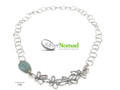 Silver Nomad Designer Necklace Wholesale - NK2360