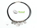 Silver Nomad Designer Necklace Wholesale - NK2369