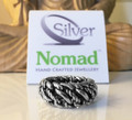 925 Sterling Silver Nomad Chunky Double Link Band