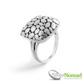 925 Sterling Silver Nomad Pebble Beach Ring