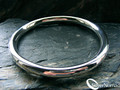 925 Sterling Silver Nomad Contemporary Brahma Slave Bangle